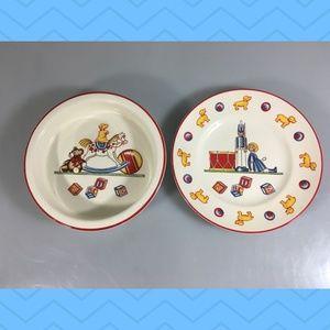 Tiffany & Co Toys Masons 2 Pcs Baby Child Dish Set